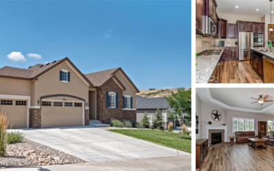 Sold! Stunning Ranch-Style Home in Castle Rock