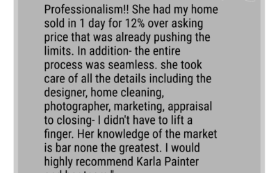 Gus: Karla is the definition of professionalism!