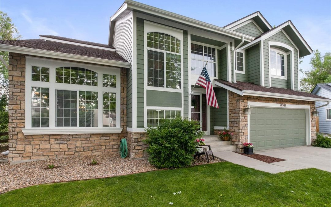 Under Contract: 18981 E Clear Creek Drive, Parker, CO 80134